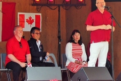 2018 Canada Day speeches  (photo from SPN)