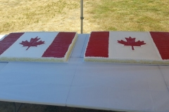 2019 Canada Day cakes provided by Western Foods
